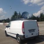Link satellitare a Redipuglia